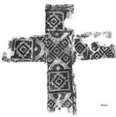 Seidenkreuz von Oberflacht