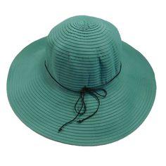 Shapeable Brim Ribbon Sun Hat