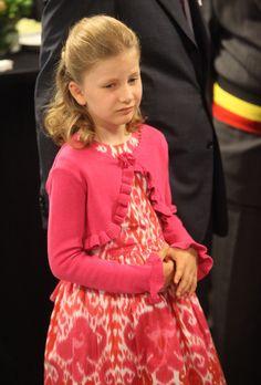 Princess Elisabeth of Belgium, the heir to the throne