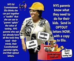 Send in your refusal letter. On day one. Before they can talk you out of it. They (Elia and the gang) are going to be coercing the school employees who in turn will be attempting the same on us. He...