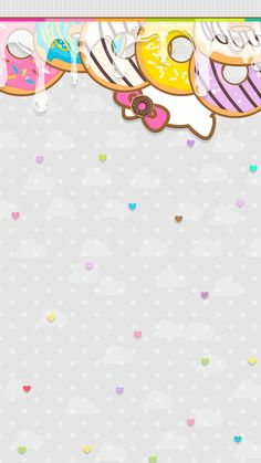 Kitty donut Chevron Wallpaper, New Wallpaper, Wallpaper Backgrounds, Hello Kitty Backgrounds, Hello Kitty Wallpaper, Cute Lockscreens, Greetings Images, Hello Kitty Pictures, Art Quotes