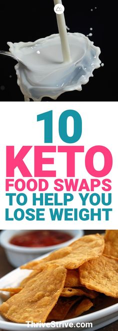 When you're on the ketogenic diet, you need to cut carbs and sugars. However, some of your favorite foods may be carbs and sugars. Here are 10 keto substitutes that will help you lose weight.