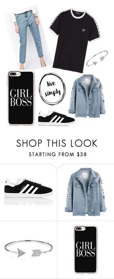 """Untitled #1"" by pernille-heike-christensen ❤ liked on Polyvore featuring adidas, Bling Jewelry and Casetify"