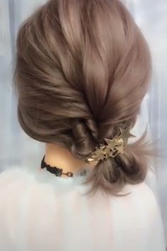 The Effective Pictures We Offer You About junior bridesmaid hair with flower crown A quality picture Bun Hairstyles For Long Hair, Diy Hairstyles, Witchy Hairstyles, Simple Bride Hairstyles, Halfway Up Hairstyles, Simple Hairdos, Bandana Hairstyles, School Hairstyles, Latest Hairstyles