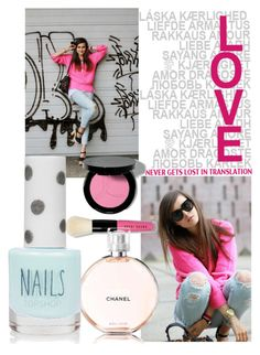 """Love <3"" by cherry-bh ❤ liked on Polyvore featuring мода, Bobbi Brown Cosmetics и Topshop"
