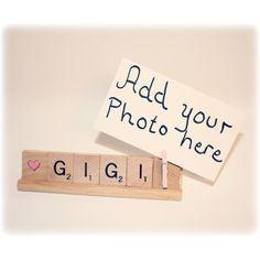 Love Gigi Photo Holder - p