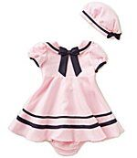 Rare Editions Baby Girls 12-24 Months Sailor Dress