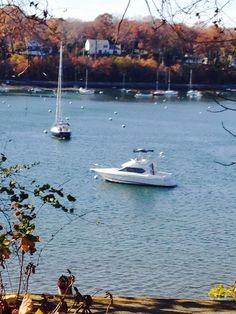 New York, Long Island, Huntington bay