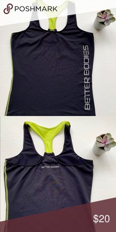 Better Bodies Tank Top Tight Better Bodies tank. Good condition. Smoke and  pet free 3ddf16ebc