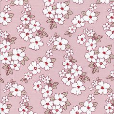 """Floressence  ♥ White flowers against a vintage pink background ♥ Each flower measures about 1/2"""" to 1 in diameter ♥ Colors: White/Pink ♥ Fabric Weight: Medium-weight ♥ Made from 100% High Quality Quilting Cotton  56"""" Wide (142 cm)  ➳➳➳➳➳➳➳➳➳➳➳➳➳➳➳➳➳➳➳➳➳➳➳➳➳➳➳➳➳➳➳➳➳➳➳➳➳➳➳➳➳➳➳➳➳➳  Did you know we can also make clothing?  ☞ Choose from any fabric carried in our store and we can make you a dress/skirt based on our patterns.  ✂✂✂ To View Patterns Click Below ✂✂✂ http://etsy.me/1PdV2c9  ☞ Please…"""