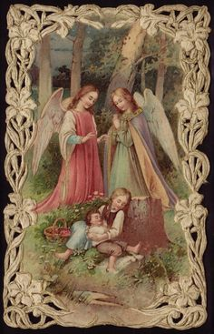 Antique Holy Card ... Heaven