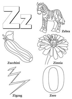 ATOZ Coloring Pages For Ease Of Understanding How Kids Should Write Alphabets Better