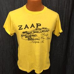 Vintage ZAAP Foreign Car Parts Lafayette, In. T-Shirt Size Medium
