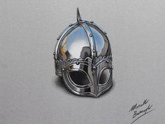 El artista italiano, Marcello Barenghi crea dibujos hiperrealistas de varios objetos cotidianos