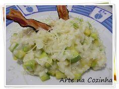 abobrinha e gorgonzola