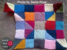 Tunisian Crochet Ten Stitch Blanket Stella Rose 1 300x225 Tunisian Crochet Ten Stitch Blanket   Free Pattern