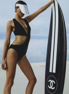 surf's up, Chanel~style..