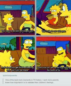 Simpsons feelings