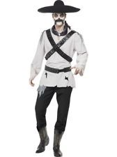 Adult M Mexican Bandit Ghost Outfit Fancy Dress Costume Halloween Ghost Town