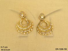 POLO CHAND LAYERS ANTIQUE EARRING