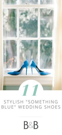 Borrowed & Blue wedding advice, 11 Something Blue Stylish Wedding Shoes, blue wedding heels, blue wedding shoes, see more on borrowedandblue.com!