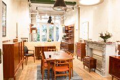 Meet The Trader: Geert Van Halewijck of Møbelfabrik Retro Furniture, Antique Furniture, Mid Century Furniture, Dining Table, Van, Meet, Blog, Home Decor, Decoration Home