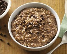 Enjoy steel-cut oats first thing in the morning by cooking overnight in your slow cooker. Your kids will flip over this hot chocolate flavor infusion.