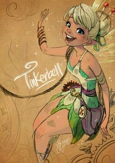 Tinkerbell illustration