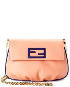 Spotted this FENDI Fendista Leather Shoulder Bag on Rue La La. Shop (quickly!).