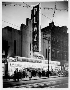 """pasttensevancouver: """" Assassin of Youth, 1937 Assassin of Youth was a knock-off of the better known anti-marihuana classic,… Granville Street, Reefer Madness, Past Tense, History Facts, Historical Photos, British Columbia, Night Club, West Coast, Vancouver"""
