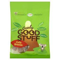 Vegan: bonbons au cola sans gélatine Goody Good Stuff (vraiment bon et rappellent les Haribo mais en version cruelty free)