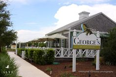 George's Restaurant in Alys Beach, Florida ~ A Bit of Sophistication