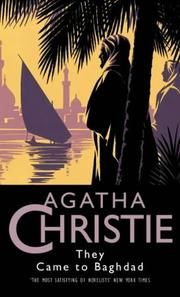 images of agatha christie book covers | Cover of: They Came to Baghdad (Agatha Christie Collection) by Agatha ...