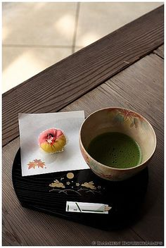 抹茶・和菓子セット、南陽院、京都   Flickr - Photo Sharing!