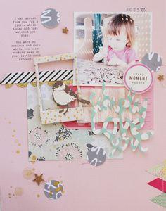 Using the Citrus Twist September kits! Kids Scrapbook, Mini Scrapbook Albums, Scrapbook Paper Crafts, Scrapbooking Layouts, Scrapbook Cards, Mini Albums, Baby Sketch, Crate Paper, Baby Album