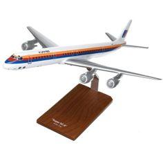 DC-8-71/73 United - Premium Wood Designs #Commercial #Aircraft premiumwooddesigns.com