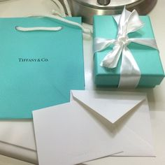 New authentic Tiffany gift box and bag Brand new, just came with my new bracelet :), box: 3x3.75x1.35.   NO TRADE for sure and price firm, plz don't ask, thank you! Tiffany & Co. Accessories