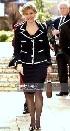 Sophie, The Countess Of Wessex, Attending A Duke Of Edinburgh Award Scheme Charity Event.