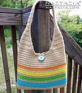 Here's a nice and relatively easy and quick pattern for a crochet tote. Granted this tote is easy for someone who already knows how to crochet a chain, single crochet, and a half-double crochet. The shape of this tote is generally known by purse aficionados as a hobo bag, while others would consider it a summer beach tote, larger handbag, purse, gypsy bag, shoulder sling, etc. Whatever you want to call it, I'm sure you will enjoy both making and using this bag. And be sure to check out the…