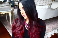 red ombre!