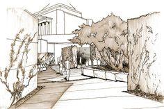 Shrine of Remembrance Garden Courtyard | rushwright associates
