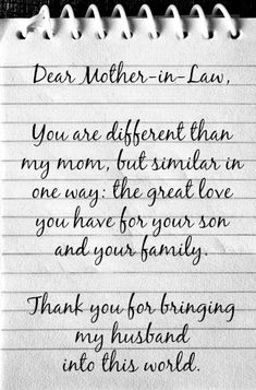 21 Best mother in law quotes images in 2019 | Thinking about you