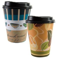 Hot/Cold Cup with Lid, Coffee Beans, Coffee Cups, Coffee Cup Design, Disposable Tableware, Plastic Plates, Guest Towels, Coffee Shop, Packaging Design, Catering