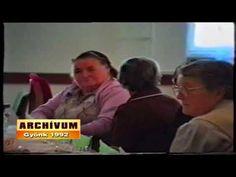 Idősek napja   Gyönk 1992 Archívum Baseball Cards, Tv, Television Set, Television