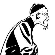 Hugo Pratt - Corto Maltese: The Golden House of Samarkand Comic Book Artists, Comic Artist, Comic Books, Maltese, Drawing Art, Art Drawings, Book Creator, Fable, How To Make Drawing