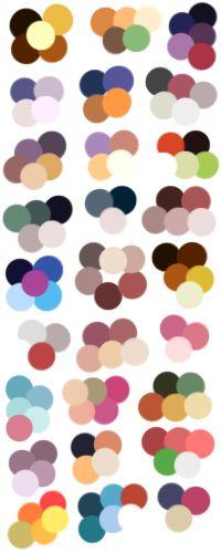 Random Color Palettes 5 by Sebbins on DeviantArt
