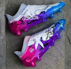 These cleats are NSYNC, Bi Bi Bi! Haha! Love it