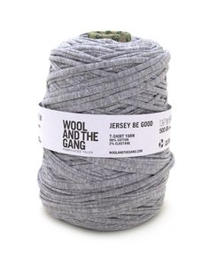 Jersey be Good - wool and the gang