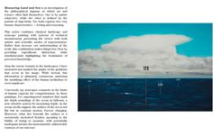 Oliver Jeffers Measuring Land and Sea