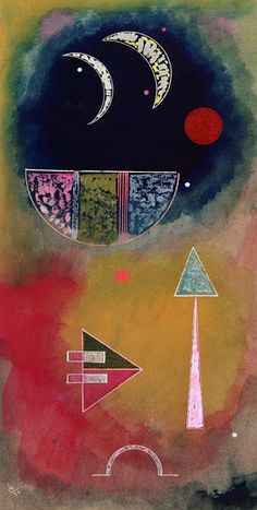 Wassily Kandinsky - From Light Into Dark